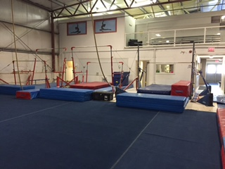 3 sets of uneven bars